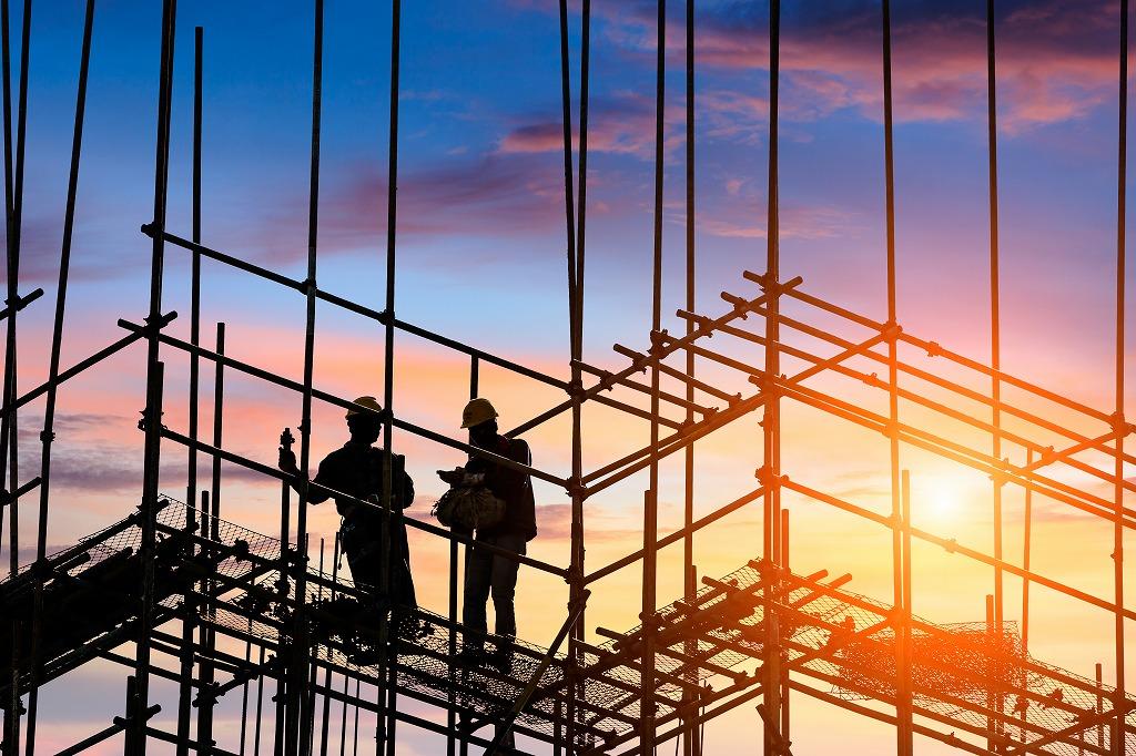 足場工事・鉄骨建て方工事スタッフを求人募集中です!